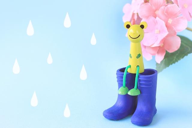 梅雨とお肌の関係